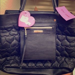 Betsey Johnson black traveler